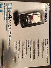 Lowrance Elite-4x Fishfinder
