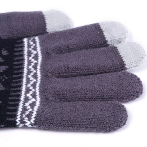 Soft Winter Men Women Touch Screen Gloves Texting Capacitive Smartphone Knit