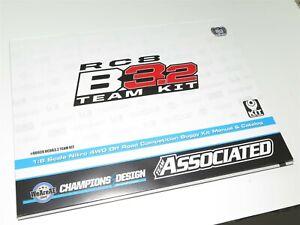 ASC80939-TEAM-ASSOCIATED-RC8-B3-2-BUGGY-INSTRUCTION-MANUAL