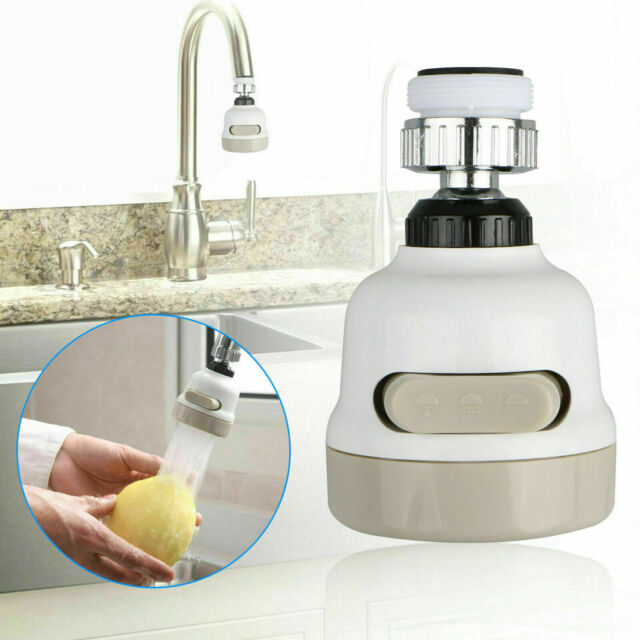 Moveable Kitchen Tap Head 360° Rotatable Faucet Water Filter Saving Sprayer z