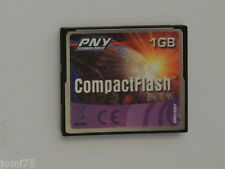 PNY Technologie MEMORY card CF Compact-Flash 1GB 1 GB SONY NIKON CANON