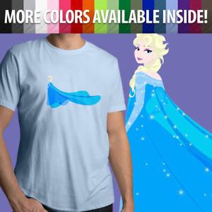 Disney-Princess-Frozen-2-Elsa-Snow-Queen-Arendelle-Unisex-Mens-Tee-Crew-T-Shirt