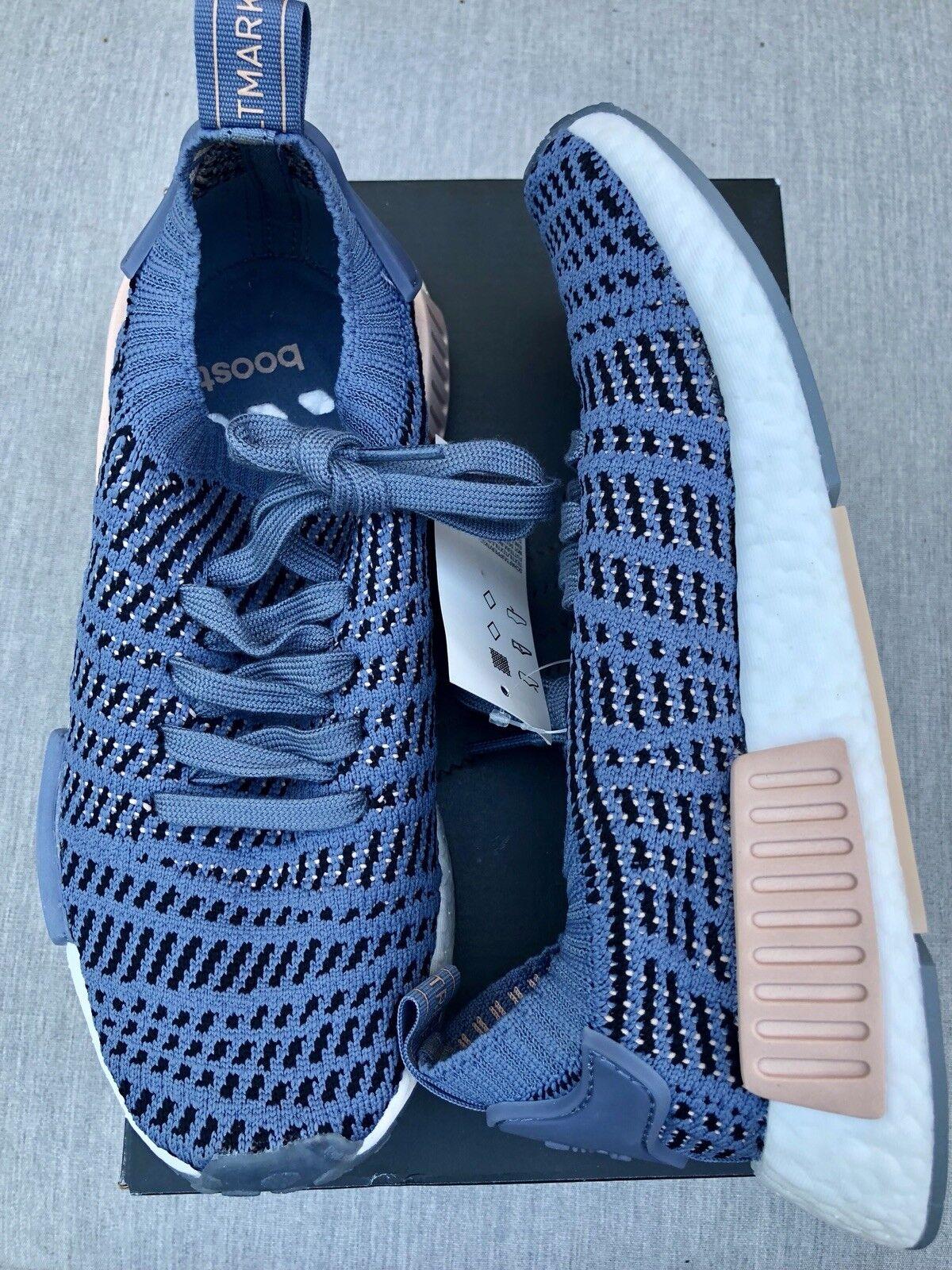Adidas Originals NMD R1 STLT PK Women bluee Ash Pearl CQ2029 size 6 Brand New