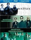 Matrix Matrix Reloaded Matrix Revolutions - Blu-ray Region 1