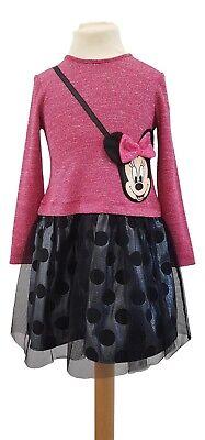Bambine Bambini Baby Minnie Mouse Abito Associato Borsa Mickey Mouse Disney Regalo- Da Processo Scientifico