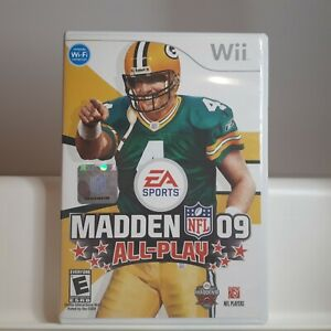 Madden-09-Nintendo-Wii-Authentic-Cleaned-Tested