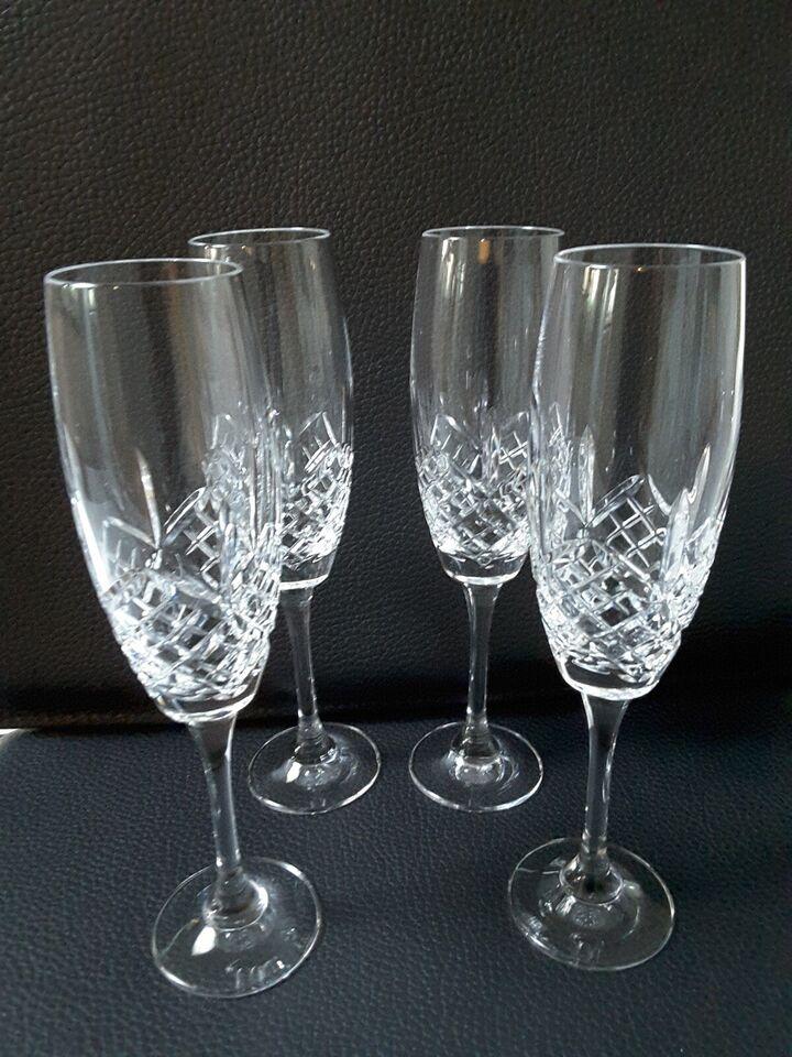 Glas, Champagneglas, Vandkande