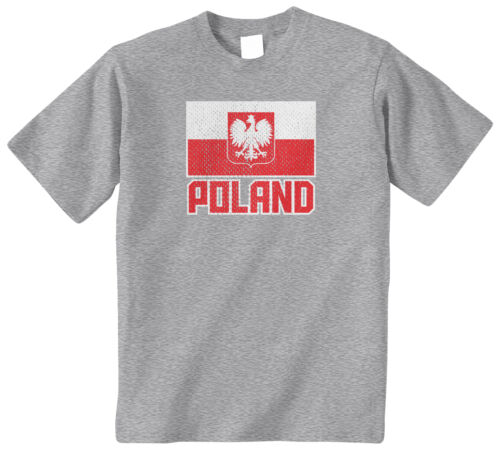 Threadrock Kids Flag of Poland Youth T-shirt Polish Polska Pride Europe