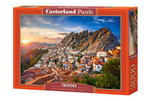 "Castorland Puzzle 3000 Pieces PIETRAPERTOSA, 92x68cm 36""x27"" Sealed box C-300549"