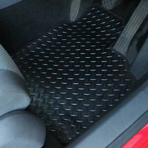 For Toyota Auris MK1 2007-2012 Fully Tailored 3 Piece Rubber Car Mat Set