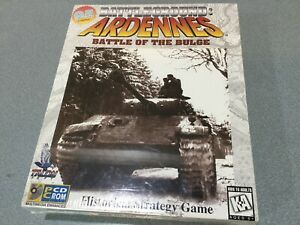 PC CD-ROM Big Box Battleground Ardennes Battle of the Bulge  Vol. 1 Sealed