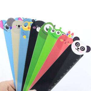 3pcs-Cute-Cartoon-Animal-Doll-Series-Pvc-Ruler-Bookmark-15-Cm-Straight-Ruler-New