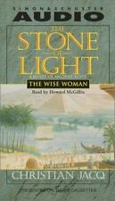 THE STONE OF LIGHT by Christian Jacq, Vol II THE WISE WOMAN Audio Cassettes 2000