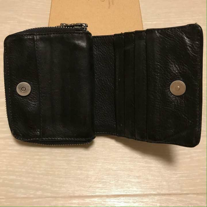 Chrome Hearts Square Zip Building Leather wallet Folded wallet Accessories