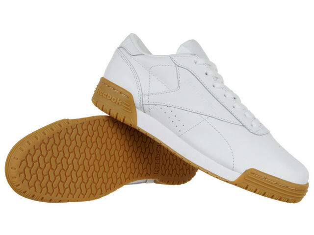 9e46a2d45c2 Reebok Classic Exofit Lo CLN Garment Gum Women s SNEAKERS Trainers Leather  Shoes for sale online