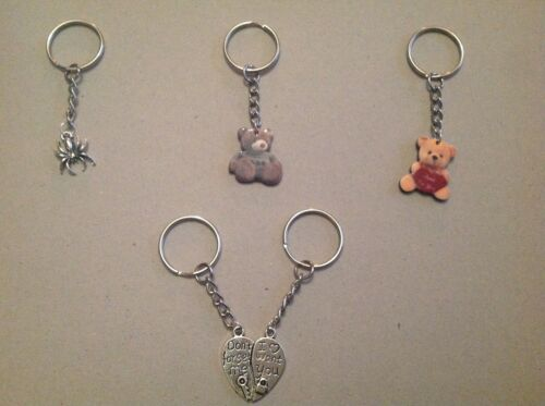 KEYRING YOU CHOOSE DESIGN CHARM PENDANT UK SELLER 3