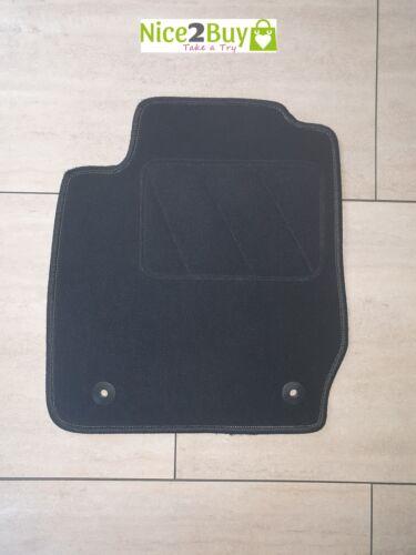 NEU Autoteppich für Ford Fiesta JA8 ab 2008 bis 2011 mit Befestigung Fußmatte sc