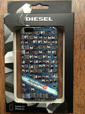 "OFFICIAL DIESEL ""PLUTON"" IPHONE 5C HARD CASE SNAP SHELL COVER BNIB STUD EFFECT"