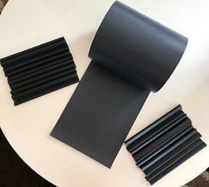 Sichtschutz-fuer-Doppelstabmatten-Zaun-Rolle-blickdicht-PVC-Zaunfolie-Windschutz
