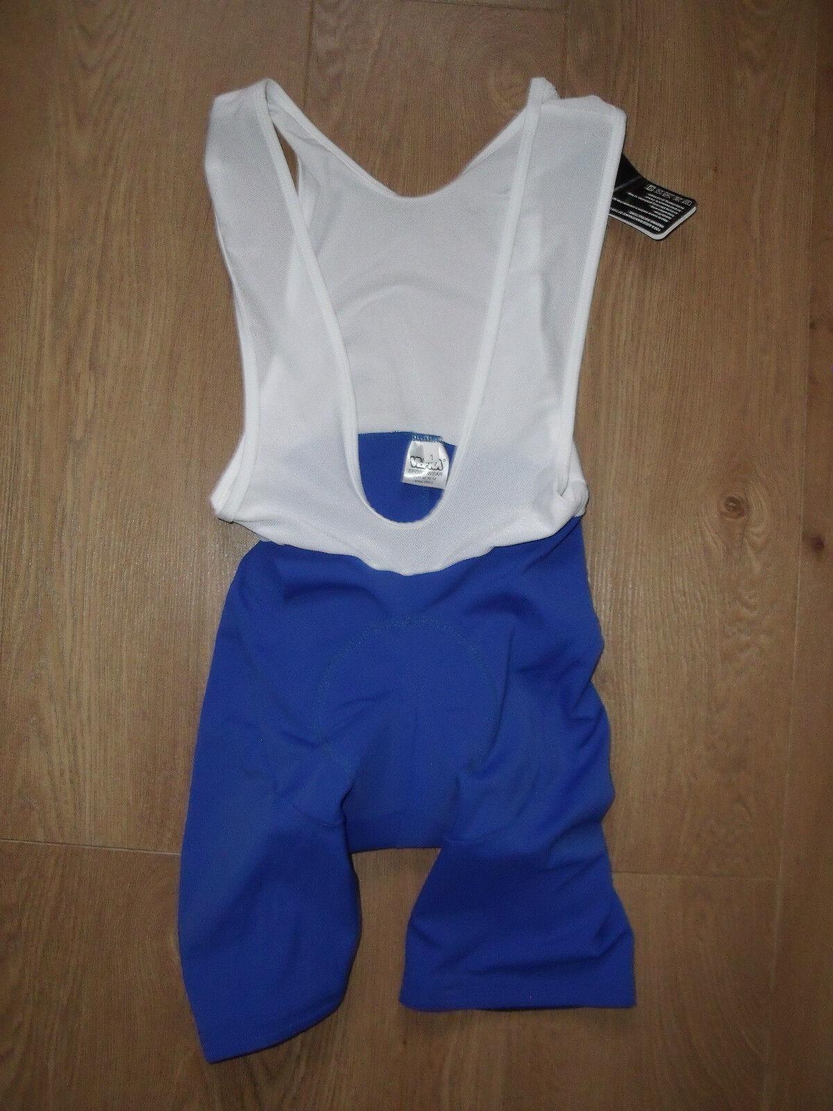 Vifra Italia Hombre Hombre Hombre ciclismo bicicleta Bib Shorts acolchado pequeño azul real f491a7