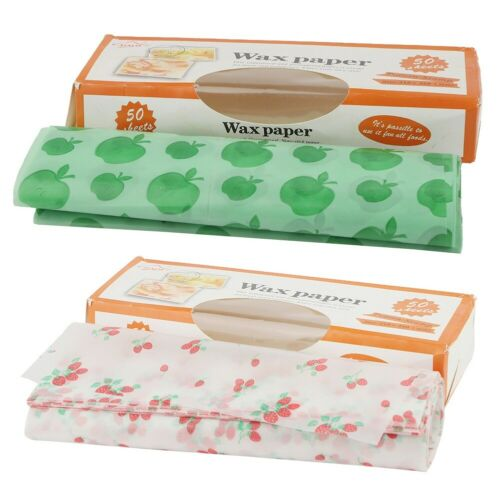 Wax Paper Sandwich Candy Cake Wrapping Paper Fruit Pattern Paper