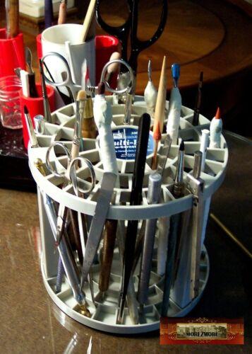 M00147 MOREZMORE Multi Bin Holder Tool Brush Organizer Caddy Pen Stand