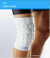 LP 610 PADDED KNEE GUARD Shock Absorber MMA Support Injury Martial Arts Brace