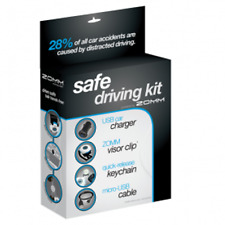 Zomm Z2010WEN1130-AM Safe Driving Kit (Wireless Leash not Included), NEW