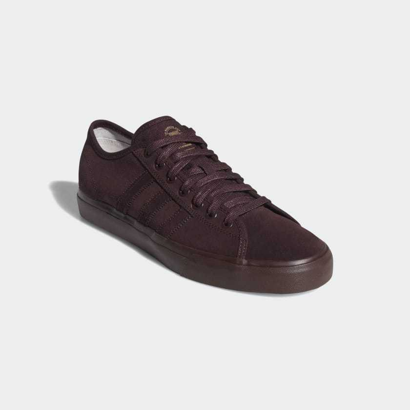 ADIDAS SKATE RED) MATCHCOURT RX SHOES (BROWN/BLACK/HI-RES RED) SKATE -FREE SHIPPING- 31a185
