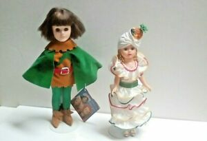 Vintage-Pair-Collector-039-s-Dolls-Includes-Mme-Alexander-Effanbee-Makers