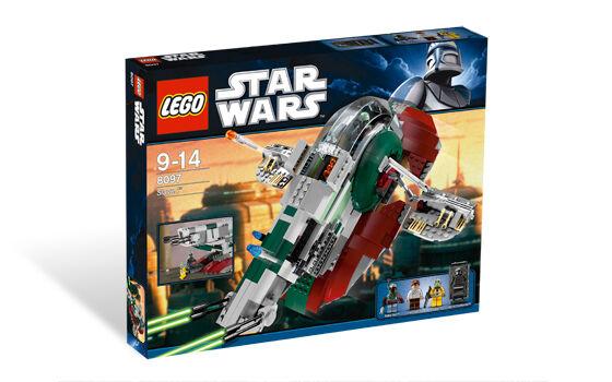 LEGO 8097 Slave I - 2010 Star Wars - New In Box - Sealed - RetiROT