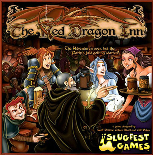 NEW rosso DRAGON INN 1 2 3 4 5 BOARD GAME BUNDLE  FACTORY SEALED