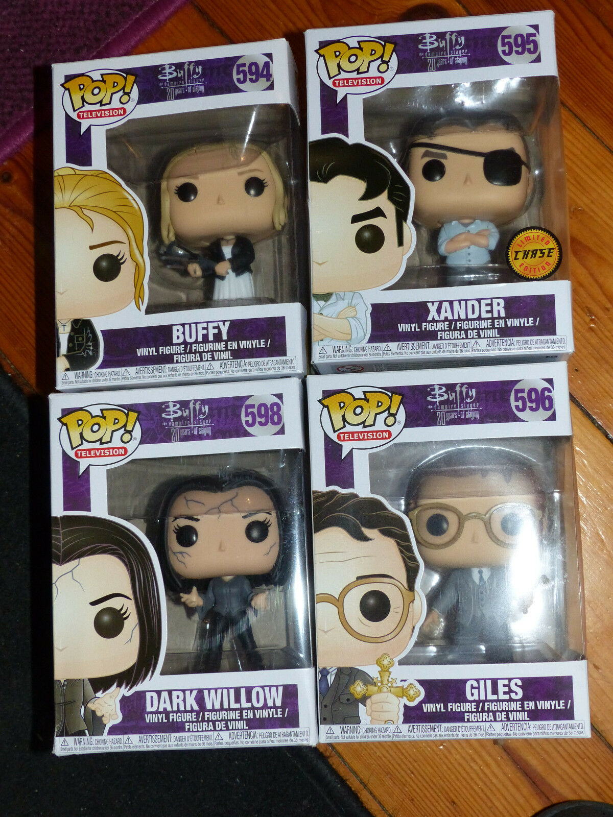 Funko Pop Vinyl Figure Set Buffy   594  598  596  595