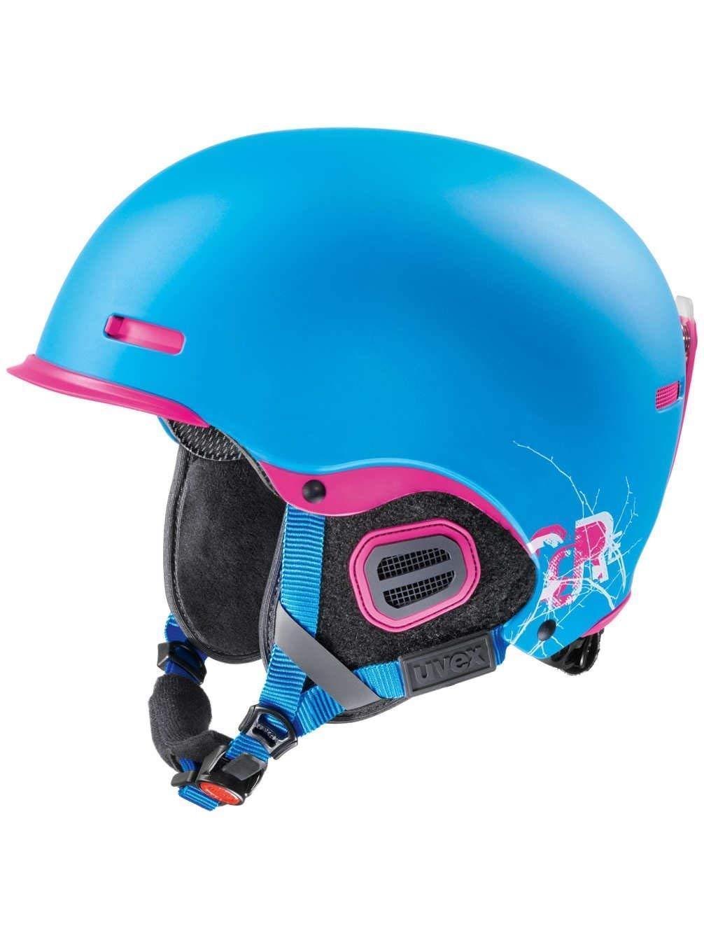 Uvex hlmt 5 pro cyan pink mat Skihelm 52-55cm Snowboardhelm Helm Wintersporthelm