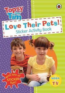 Love-Their-Pets-a-Ladybird-Topsy-and-Tim-Sticker-Book-CBEEBIES
