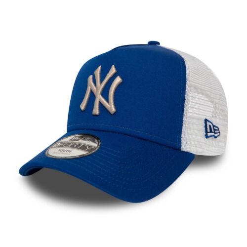 New York Yankees royal New Era Kinder Trucker Cap