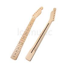 Electric Guitar Neck For Fender Tele Parts Replacement 22 Fret Maple Wood 1 Pcs