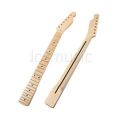 Electric Guitar Neck For TL Parts Replacement 22 Fret Maple Wood 1 Pcs