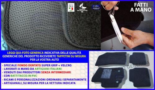 Tappetini Tappeti per BMW Serie5 E60 da 2003 al 2010 Set moquette fondo grip