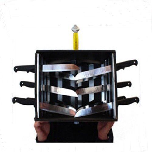 Caja de cabeza Piercing Doblado-Truco de Magia, magia, ilusiones etapa