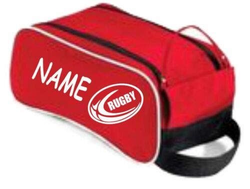 Personalised  Football,Rugby,Sports School Gym Shoe boot bag Gift Tog Dance