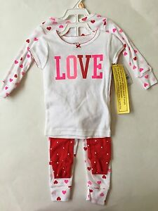 NWT Set Of 2 Carters Baby Girl 18Month or 4Toddler Sleeper PJ's Assorted Styles