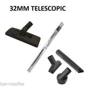 ROWENTA Vacuum Cleaner Telescopic Tube Hoover Rod Pipe Mini Brush Tool Kit 32mm