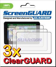 3x Clear LCD Screen Protector Film Garmin Nuvi 3597 3597LM 3597LMT 3597LMTHD GPS
