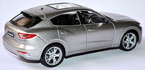 Maserati Levante SUV 2016-18 silber silver metallic1:24 Bburago