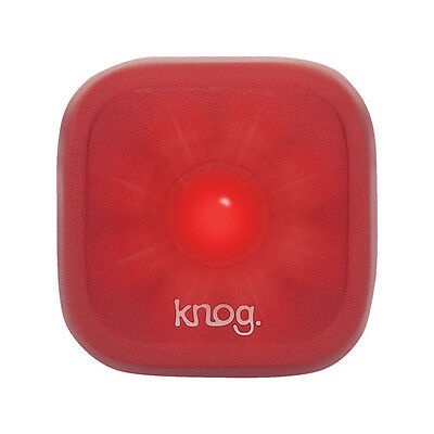 Knog Blinder 1 LED Rechargeable Rear Light Red | Road Bike Fixie MTB Bicycle