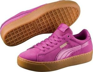 famous brand browse latest collections Clearance sale Details about NIB WOMENS PUMA VIKKY PLATFORM RIHANNA CREEPER SUEDE FASHION  PINK SNEAKER SHOES
