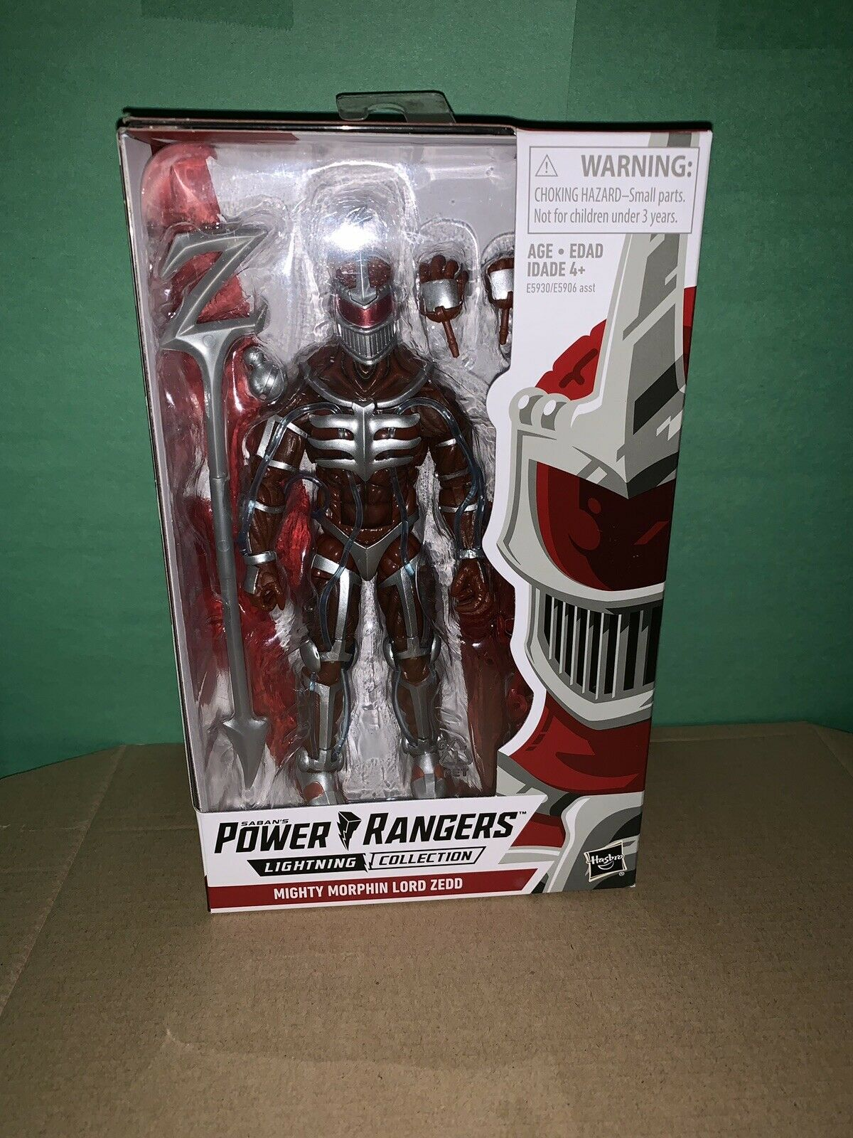 Power Rangers Lightning Collection  Lord Zedd Zedd Zedd Fast Shipping Hasbro a3ecf1