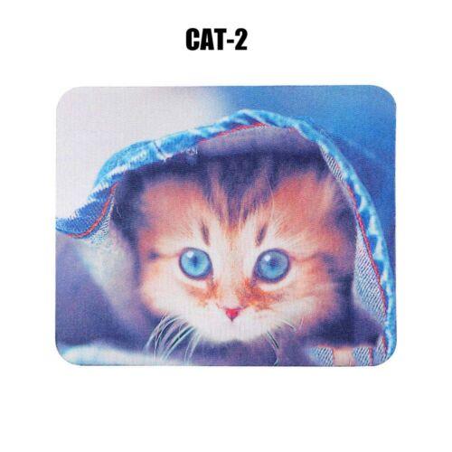 Cute Cartoon Animal Comfortable Non-Slip Gaming Laptop PC Mice Mouse Pad Mat