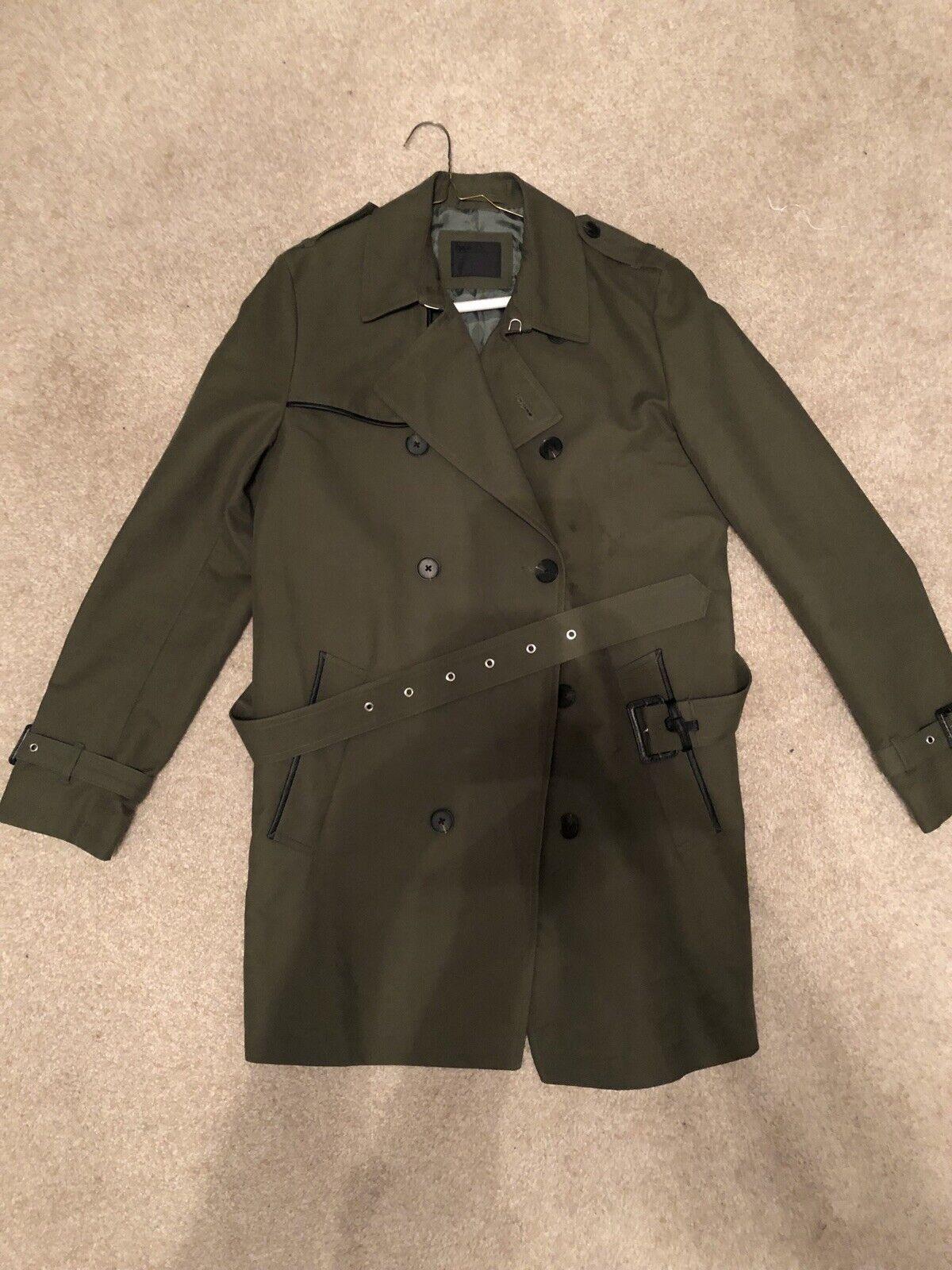 Asos Trench Coat Size Small Men's
